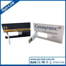 Promotional Custom Logo usb Card, Cheapest Factory Price Business Card usb Flash, 100% Real Capacity Credit Card usb