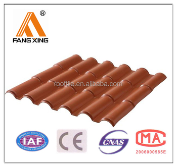 Fangxing Curved Plastic Roma Roof Tile Buy Curved Roof