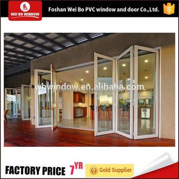 High Quality Hot Sale Pvcupvc Glass Folding Patio Doors Price Buy