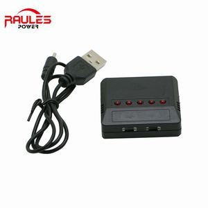 Power adapter balance charger 5 Port 1S 3.7v lipo Battery USB Charger