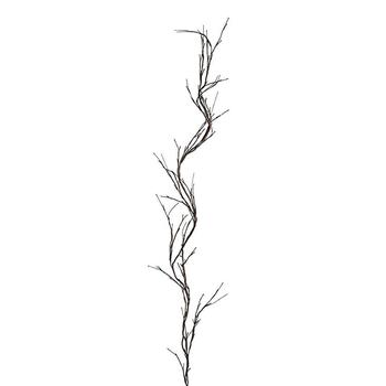Best Selling LED Lighted Twig Garland Brown Wrapped Lighted Branch Garland