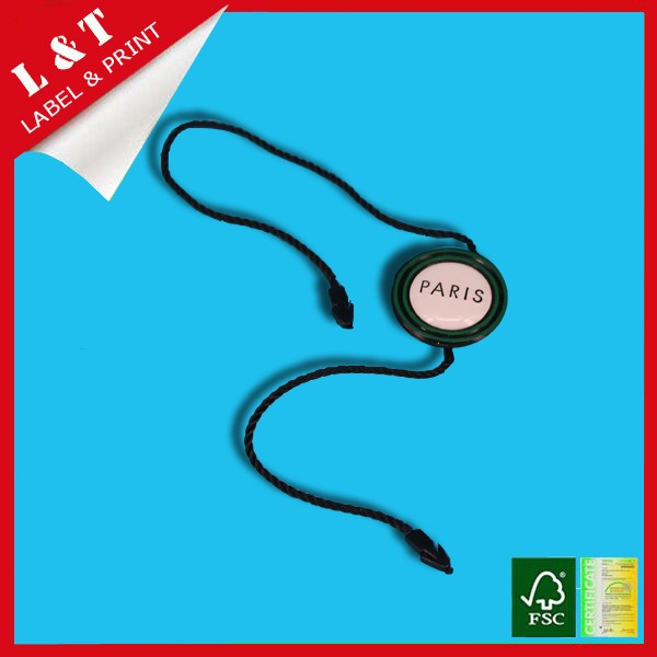 Chinese factory bulk plastic seal tags PP embossed clothes shoes seal strip whole sale
