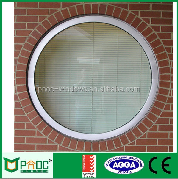 Price of perfect curved aluminium round window blinds with CE certificate