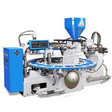 Single color sport upper sole PVC Injection automatic shoe lasting machine