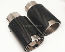 TOP quality Car Carbon Fiber Exhaust End Tips for BMW