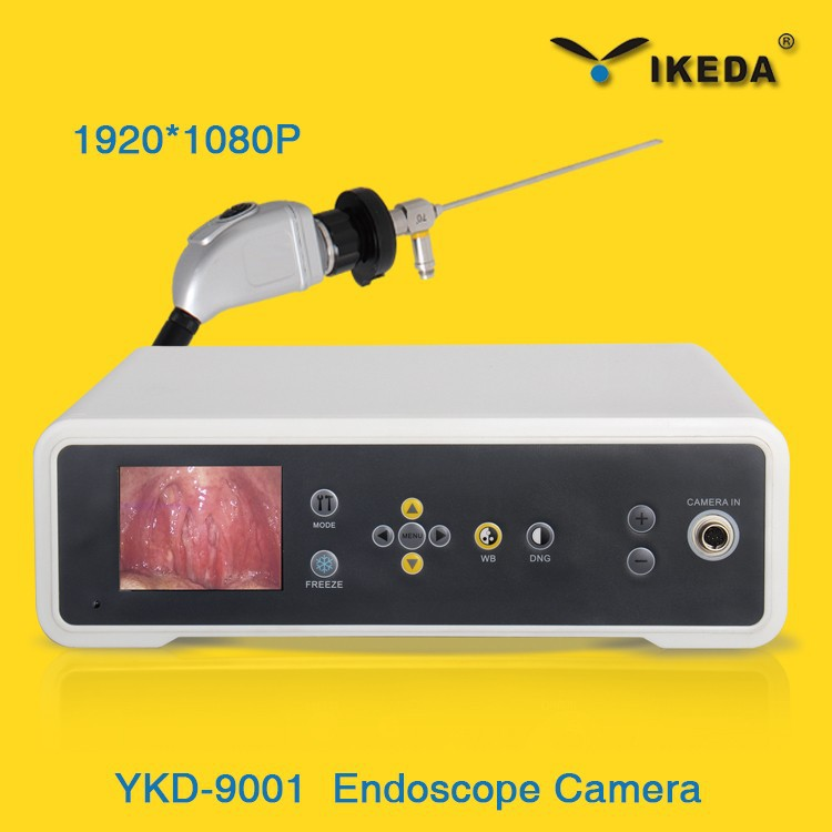 Medical rigid portable endoscope laparoscopy