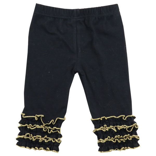 Kids leggings girls lace pants cotton boutique baby clothing wholesale
