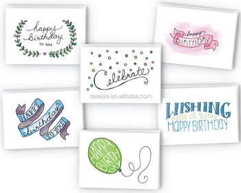 Happy Birthday Cards Variety Pack Greeting Collection