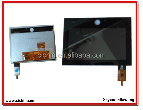 5 inch TFT LCD module with capacitive touch screen panel, custom lcd and touch screen
