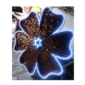 Sequin Wall Decoration Material Mirror Effect Chinese Restaurant Decoration  Supply - Buy Chinese Restaurant Decoration Supply,Clothes Shop