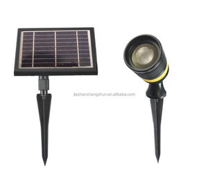 Solar power Spot Light with zoom function for Pathway Wall Home Road Villa Yard Street Garden