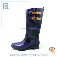 Best Quality Customized Fashion Rain Boots Wholesale,Rubber Cowboy Rain Boots Wholesale