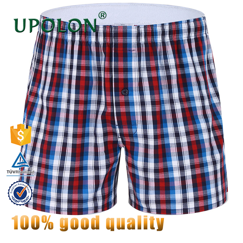 Upolon Cheapest Cotton Ghana Wholesale Custom Men Cotton Underwear Boxer Brief