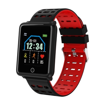 DFA8 smart bracelet health management system wrisrt heart rate 2.5D colorful touch screen BT 4.0 long standby battery  Wrist He