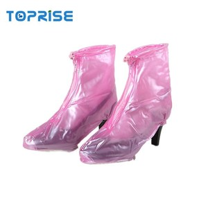 2018 new arrivals Durable cycling waterproof high heel shoes cover for women