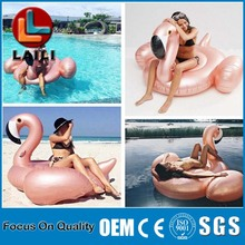 2017 wholesale Unicorn Floating Row Water Inflatable Unicorn Swan Pool Float