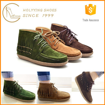 Young girls fashion female short fringe boot, View fringe boot ...