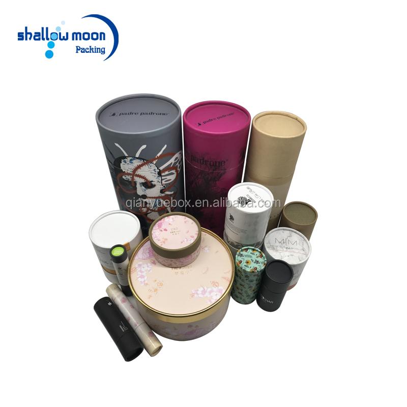 Recyclebaar Eco Custom Kraft Karton Lippenbalsem Containers Papier Buis