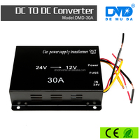 Chinese supplier 30A Power Supply voltage 24v dc to 12v dc converter