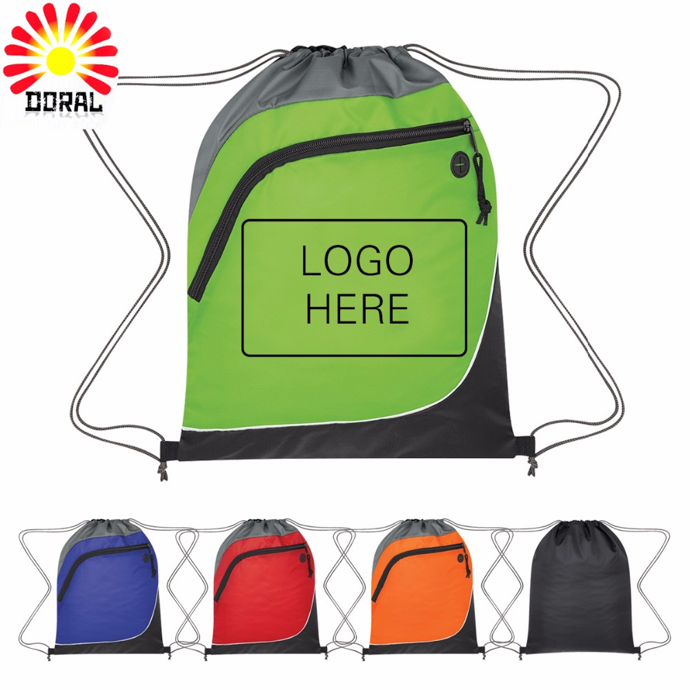 Promotional Bag 210d Customized Size Fast Leadtime Drawstring Bag ...