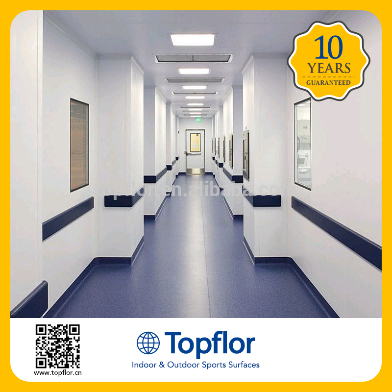 Anti Static PVC Vinly Flooring used like operation theaters/telephone exchange/server rooms