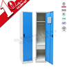 Ready made single door hostel locker with drawer & hanging rod / 1 door steel locker for Malaysia