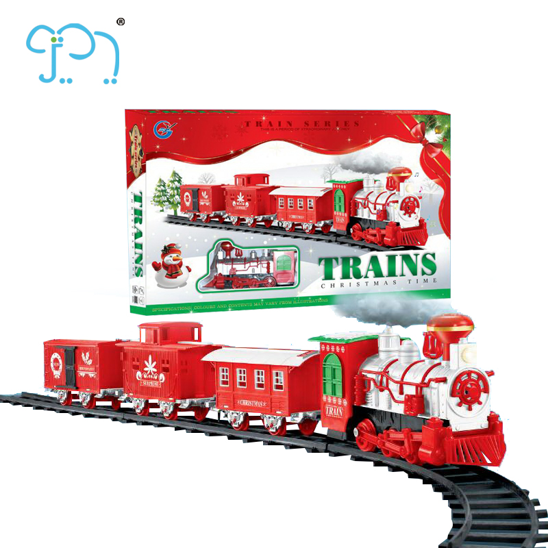 Christmas Train.Big Train Toy For 2017 New Toy Electric Christmas Train With Steam Buy Electric Christmas Train Big Train Toy Train Toy Electric Product On