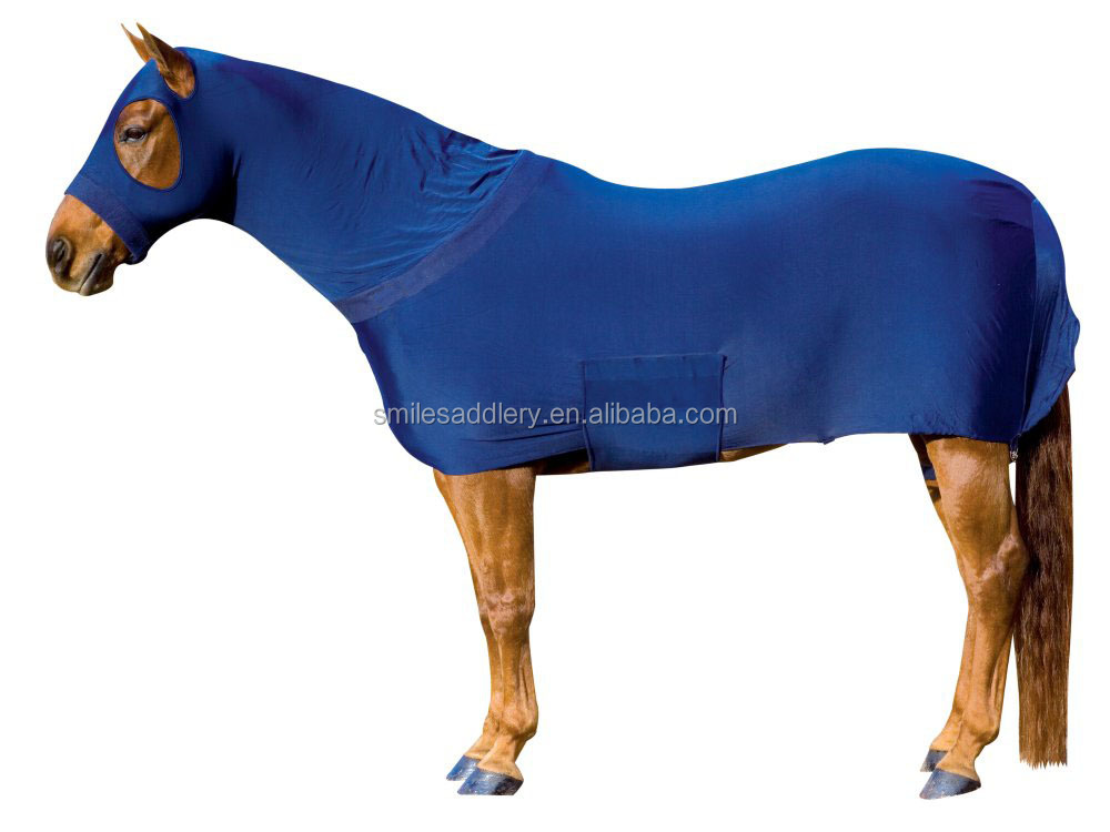 Royal Blue Elastic Lycra Horse Rug Full Body Suit Product On Alibaba Com