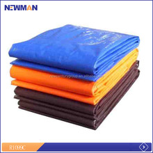 good performance supply fine finished pe tarpaulin with installed metal eyelets