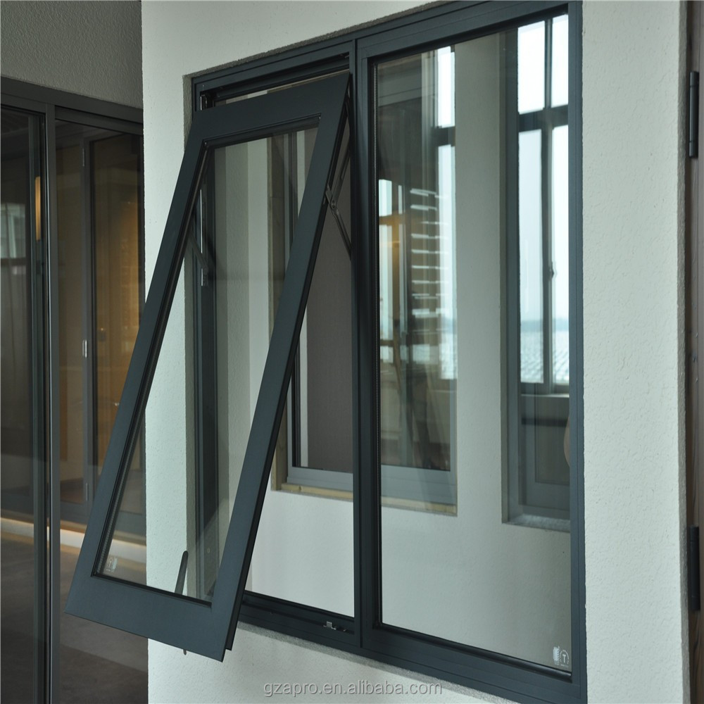 Latest Window Designs Top Hung Windows Vertical Opening Por Product