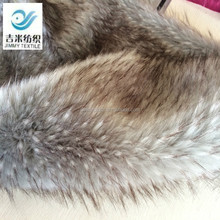 most popular acrylic long pile raccoon fur trim for hood