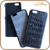 first layer crocodile leather case for iphone 6 6plus high quality alligator leather mobile phone cover for iphone