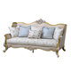 Hot Selling Factory Wholesale American Style Bedroom Furniture Luxury Modern Royal 3 Seater Furniture Sofa