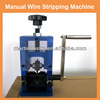 scrap copper cable wire stripper manual wire stripping machine