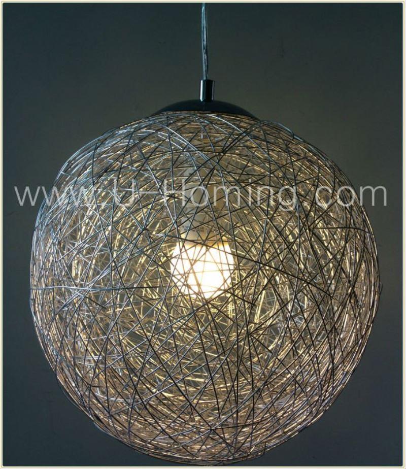 Modern Round Aluminum Wire Ball Pendant Lighting Hotel Decorative Hanging Pendant Light - Buy Aluminum Wire Ball Pendant LightingLarge Pendant L&sHotel ... & Modern Round Aluminum Wire Ball Pendant Lighting Hotel Decorative ... azcodes.com