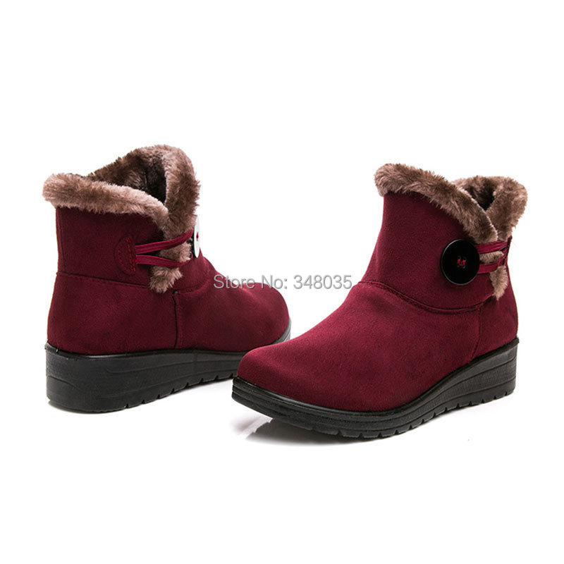 wholesale Women Winter snow boots With cotton warm shoes