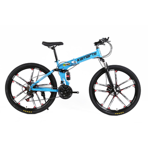 Land rover folding Mountain bike with 24 speeds high quality mountain bicycle mtb bicicletas de montana with one wheel rim