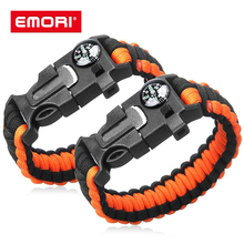 New Products 조절 비상 로프 <span class=keywords><strong>Paracord</strong></span> Bracelet 와 커터 칼