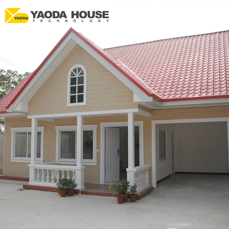 India House Design Low Cost Prefabricated Luxury Villa 20 Ft