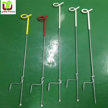 Electric Fencing Pigtail Post 10pcs Pack