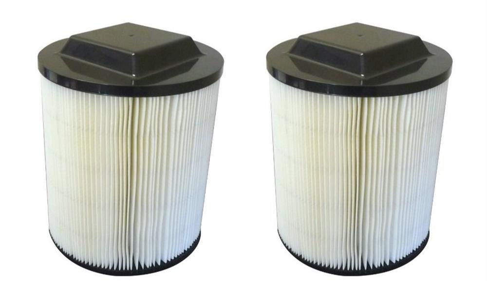 2 Ridgid VF4000 Wet/Dry Vac Filter - Fits All Ridgid Brand Vacs # 72947 - Washable Wet/Dry Vac Filter - Reusable Wet/Dry Vac Filter - High Efficiency Cartridge Filter - High Quality Cartridge Filter