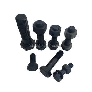 Factory direct supply Hexagon bolt , carbon steel , different sizes to choose , ASTM A325 steel structure bolt