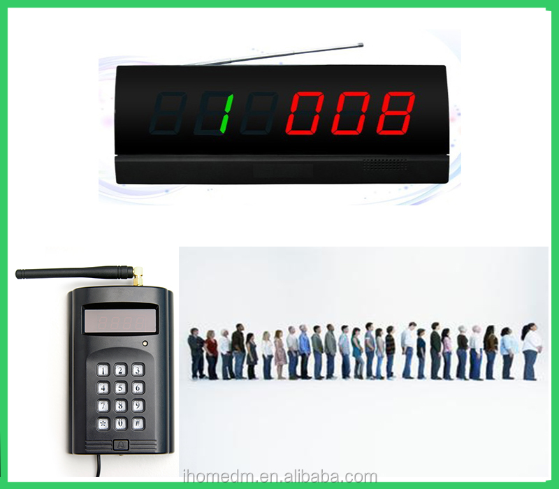 Wireless Queuing Ordering Device Paging Management System Software