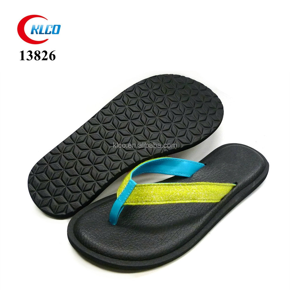 new style fabric upper soft PU insole slipper women shoes