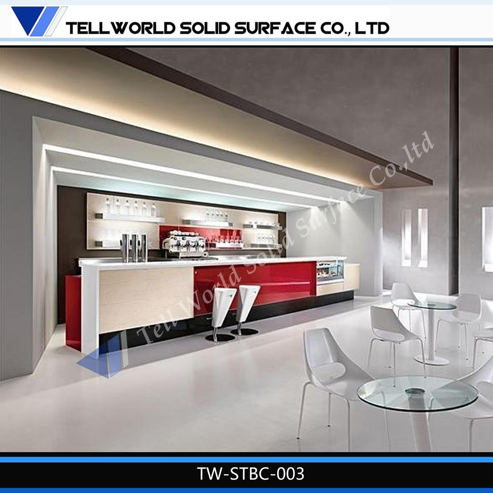 commerciale caf bar meubles caf comptoir de r ception vendre tables de bar id de produit. Black Bedroom Furniture Sets. Home Design Ideas