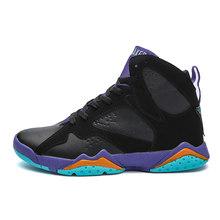 Официальные Оригинальные баскетбольные дышащие кроссовки, спортивные уличные спортивные кроссовки TORSION 7 More Uptempo, роскошные ретро-кроссовк...(Китай)