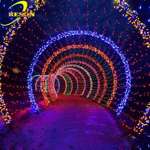 Royal Wedding Decoration Outdoor Wedding Tunnel Light