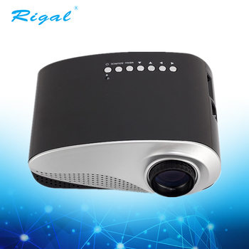 2018 Hot Sale Home Cinema Portable Mini LED Projector Best Gift Choice for Your Family and Friends