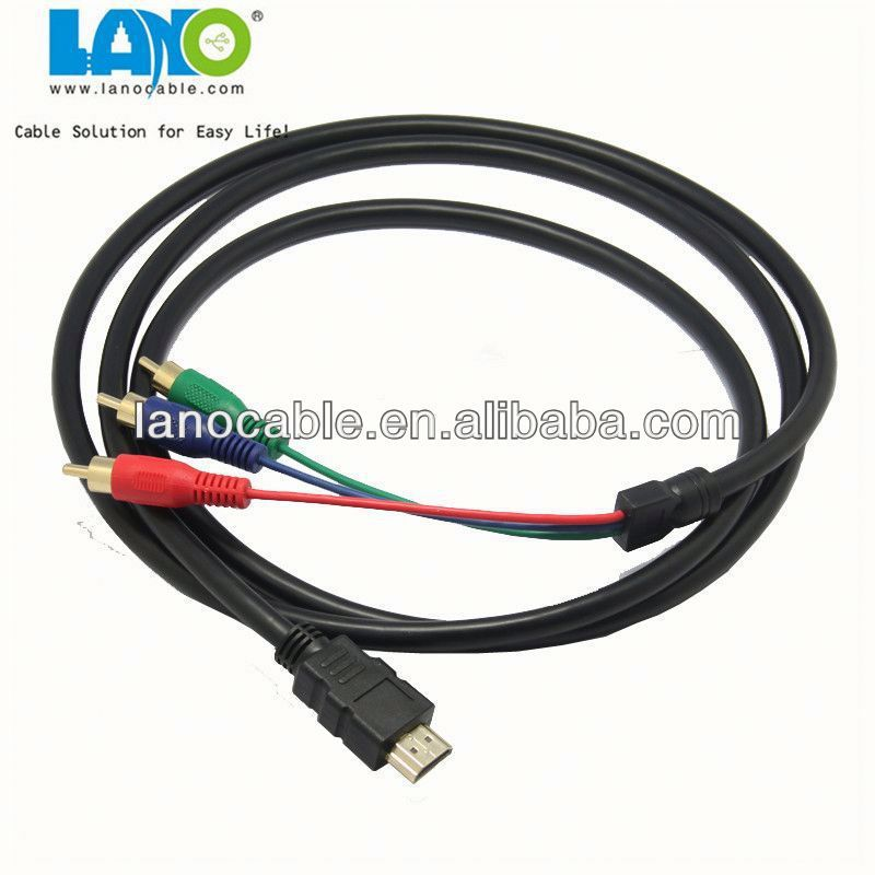 wholesale factory price 3.5mm jack audio+hdmi cable with cheap price