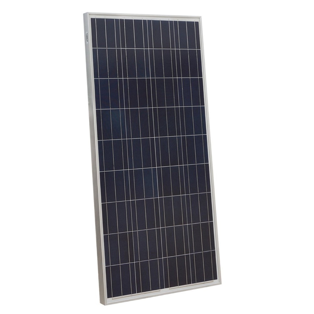 130W poly solar panel for home system